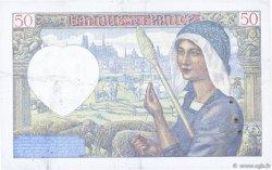 50 Francs JACQUES CŒUR FRANCE  1941 F.19.14 TTB