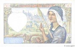 50 Francs JACQUES CŒUR FRANCE  1942 F.19.20 SUP