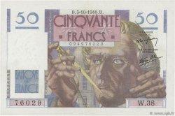 50 Francs LE VERRIER FRANCE  1946 F.20.06 TTB