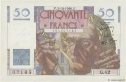 50 Francs LE VERRIER FRANCE  1946 F.20.06 SUP