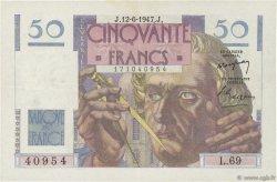 50 Francs LE VERRIER FRANCE  1947 F.20.08 TTB+