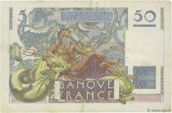 50 Francs LE VERRIER FRANCE  1949 F.20.12 TTB