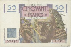 50 Francs LE VERRIER FRANCE  1950 F.20.15 TTB+