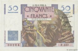 50 Francs LE VERRIER FRANCE  1950 F.20.16 TTB