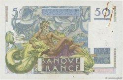 50 Francs LE VERRIER FRANCE  1951 F.20.17 TTB