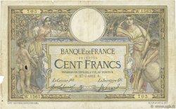 100 Francs LUC OLIVIER MERSON sans LOM FRANCE  1912 F.23.04 B