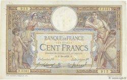 100 Francs LUC OLIVIER MERSON sans LOM FRANCE  1918 F.23.10 pr.TTB
