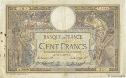 100 Francs LUC OLIVIER MERSON sans LOM FRANCE  1919 F.23.11 B