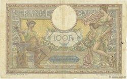 100 Francs LUC OLIVIER MERSON sans LOM FRANCE  1920 F.23.12 B