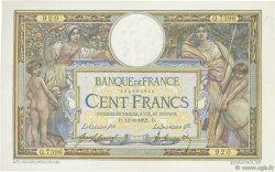 100 Francs LUC OLIVIER MERSON sans LOM FRANCE  1921 F.23.14 TTB+