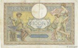 100 Francs LUC OLIVIER MERSON sans LOM FRANCE  1923 F.23.16 TB