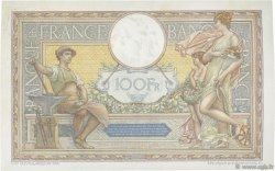 100 Francs LUC OLIVIER MERSON grands cartouches FRANCE  1926 F.24.05 pr.SUP