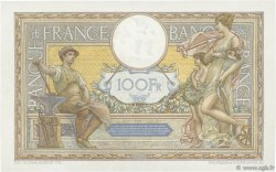 100 Francs LUC OLIVIER MERSON grands cartouches  FRANCE  1929 F.24.08 XF+
