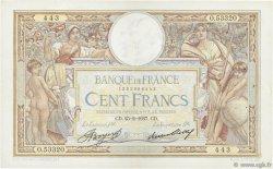 100 Francs LUC OLIVIER MERSON grands cartouches FRANCE  1937 F.24.16 TTB