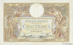 100 Francs LUC OLIVIER MERSON type modifié FRANCE  1937 F.25.02 TTB+