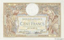 100 Francs LUC OLIVIER MERSON type modifié FRANCE  1937 F.25.05 TTB+