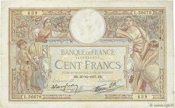 100 Francs LUC OLIVIER MERSON type modifié FRANCE  1937 F.25.07 TB