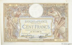 100 Francs LUC OLIVIER MERSON type modifié FRANCE  1938 F.25.26 pr.SUP