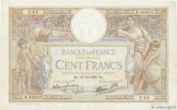 100 Francs LUC OLIVIER MERSON type modifié FRANCE  1938 F.25.31 TTB