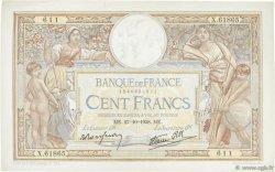 100 Francs LUC OLIVIER MERSON type modifié FRANCE  1938 F.25.33 pr.SUP