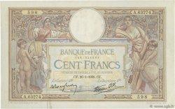 100 Francs LUC OLIVIER MERSON type modifié FRANCE  1939 F.25.40 TTB+
