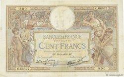 100 Francs LUC OLIVIER MERSON type modifié FRANCE  1939 F.25.47 TB+
