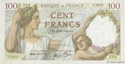100 Francs SULLY FRANCE  1939 F.26.11 SUP