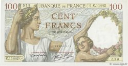 100 Francs SULLY FRANCE  1940 F.26.30 SPL+