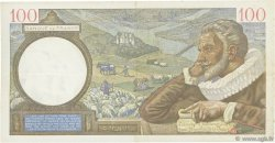 100 Francs SULLY FRANCE  1940 F.26.30 TTB+