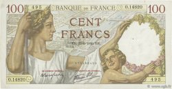 100 Francs SULLY FRANCE  1940 F.26.37 TTB