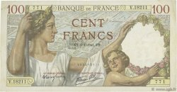 100 Francs SULLY FRANCE  1941 F.26.44 TTB