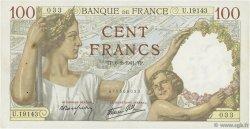 100 Francs SULLY FRANCE  1941 F.26.46 TTB+