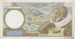 100 Francs SULLY FRANCE  1941 F.26.55 TTB+