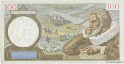 100 Francs SULLY FRANCE  1942 F.26.67 SUP+