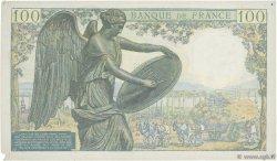100 Francs DESCARTES FRANCE  1942 F.27.01 pr.TTB