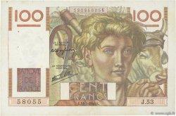 100 Francs JEUNE PAYSAN FRANCE  1946 F.28.05 TTB+