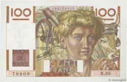 100 Francs JEUNE PAYSAN FRANCE  1946 F.28.06 SUP