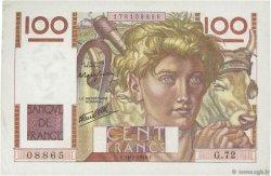 100 Francs JEUNE PAYSAN FRANCE  1946 F.28.06 SUP+