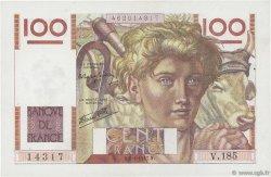 100 Francs JEUNE PAYSAN FRANCE  1947 F.28.13 SUP