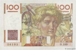 100 Francs JEUNE PAYSAN FRANCE  1947 F.28.13 TTB+