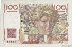 100 Francs JEUNE PAYSAN FRANCE  1947 F.28.14 SPL