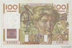 100 Francs JEUNE PAYSAN FRANCE  1948 F.28.20 TTB+