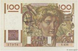 100 Francs JEUNE PAYSAN FRANCE  1952 F.28.32 pr.SUP