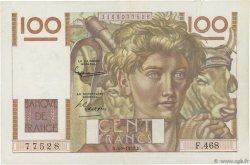 100 Francs JEUNE PAYSAN FRANCE  1952 F.28.33 pr.SUP