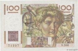 100 Francs JEUNE PAYSAN FRANCE  1954 F.28.42 SUP+