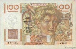 100 Francs JEUNE PAYSAN FRANCE  1954 F.28.43 TTB
