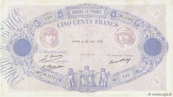 500 Francs BLEU ET ROSE FRANCE  1929 F.30.32