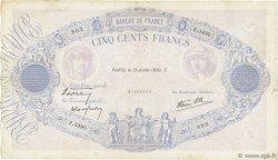 500 Francs BLEU ET ROSE modifié FRANCE  1939 F.31.36 TB