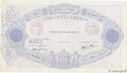 500 Francs BLEU ET ROSE modifié FRANCE  1939 F.31.50 TB