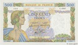 500 Francs LA PAIX FRANCE  1942 F.32.41 SUP